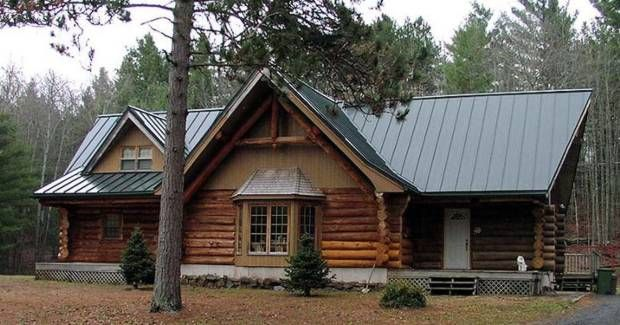 mountain craftsman homes metal roof google search