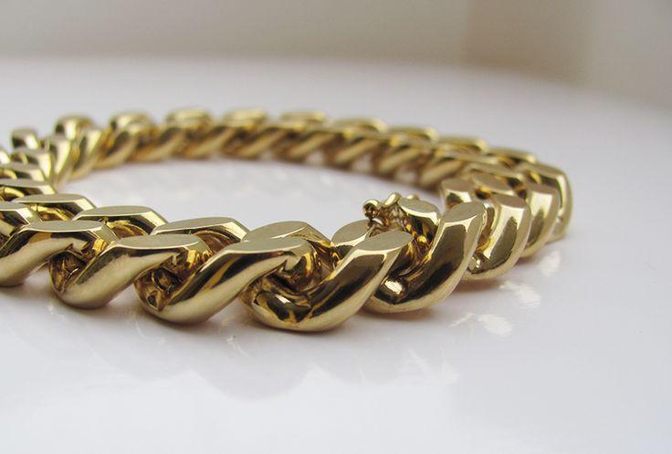 groumette bracelet - detail golingold