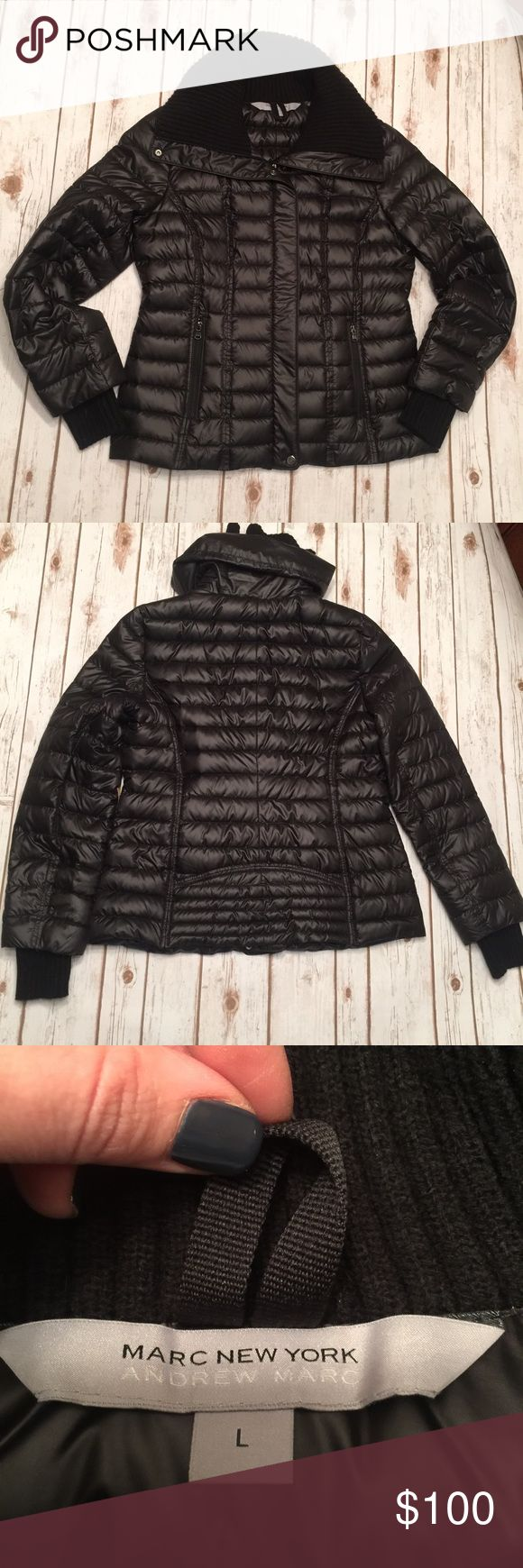 ⛄️MARC NEW YORK- ANDREW MARC Down Puffer Jacket NWOT.  Never worn.  Very warm jacket!  Fits comfortably on 36C chest.  Purchased at Bloomingdales. Andrew Marc Jackets & Coats Puffers