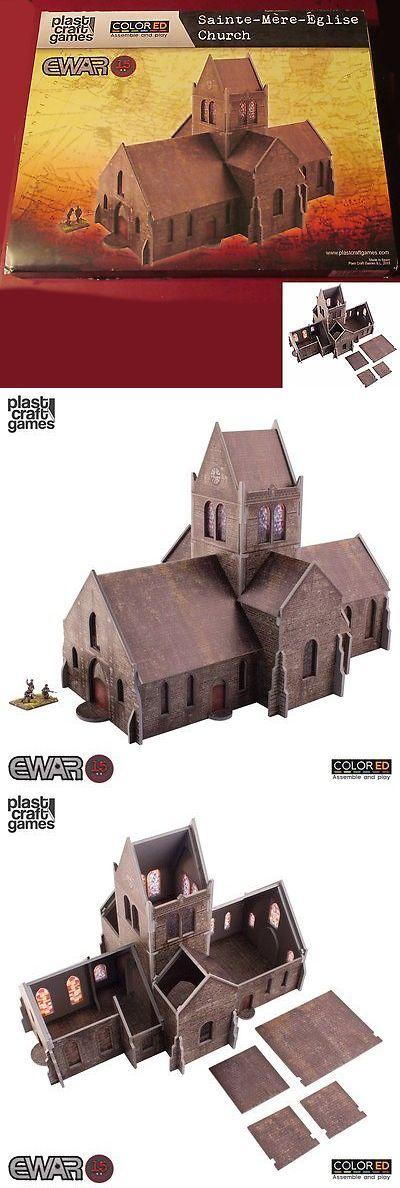 15mm 158728: Plast Craft Games Ewar66 Ewar 15Mm Colored Saint-Mere-Eglise Church Terrain Nib -> BUY IT NOW ONLY: $52.5 on eBay!