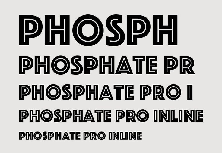 phosphate font - Google Search