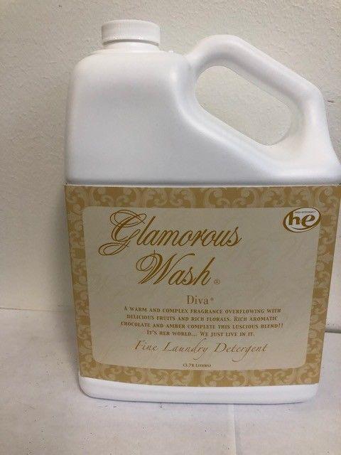 Diva Gallon Glamorous Wash Fine Laundry Detergent Tyler Candle