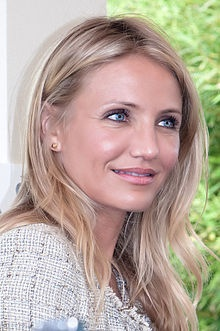 "Cameron Diaz...beautiful and super funny...loved her movie ""The Holiday"""