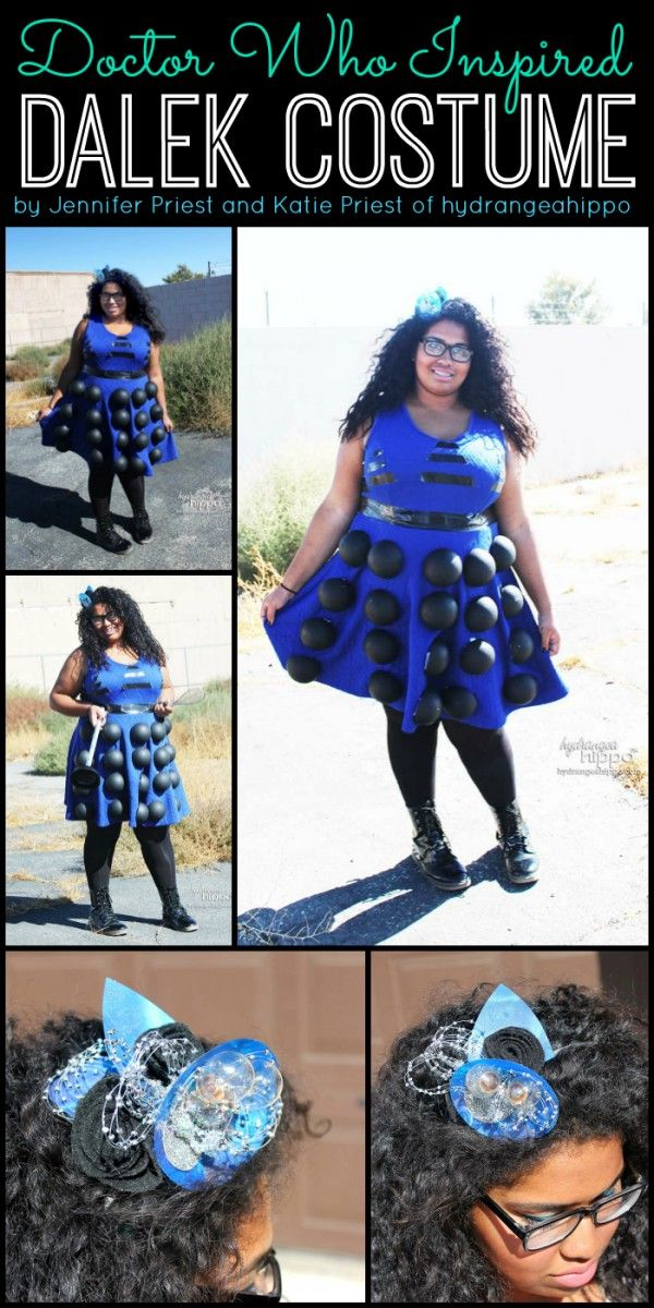 How to Make a Dalek Halloween Costume Dress