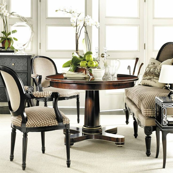 86 Best Hickory Chair Images On Pinterest  Hickory Chair Alexa Glamorous Hickory Dining Room Chairs Review