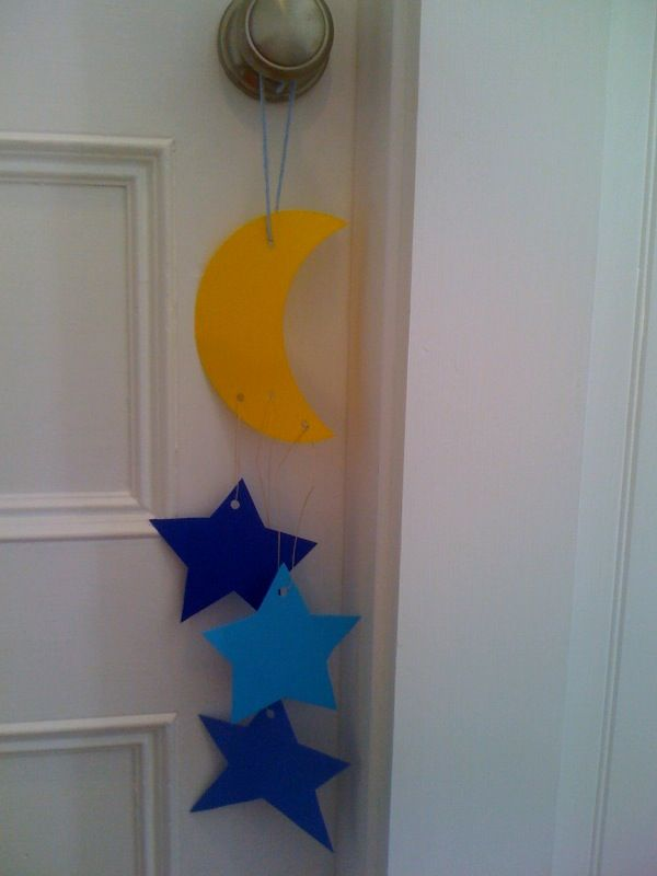 43 best images about bedtime theme on pinterest fine for Moon and stars crafts