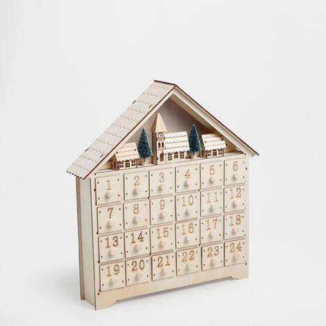 Calendario De Adviento Natural Esta Semana Novedades Zara Home Espa A Home Pinterest