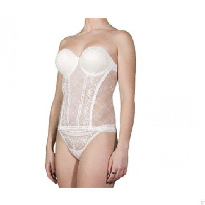 @WomenWantsNL #selmark #bruidstorselet #torselet #lingerie #bride #ivory #kant