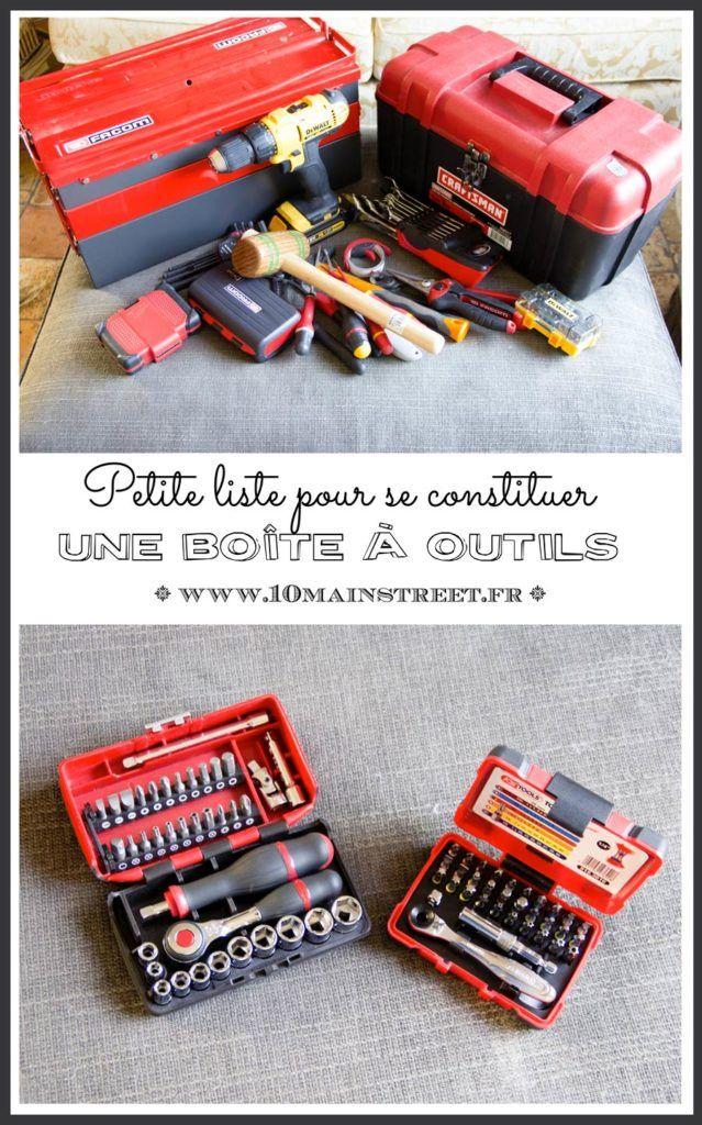 Petite liste pour se constituer une boîte à outils | perceuse, marteau, pinces, tournevis, Facom, Stanley, Bosch, KS Tools, DeWalt