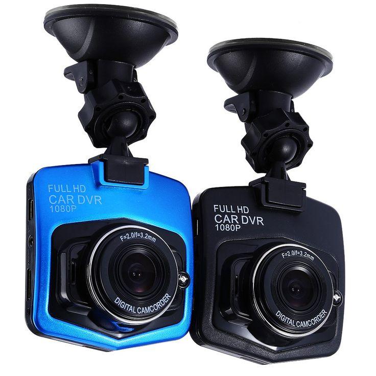 100% Oryginalny Mini Samochód DVR Kamera Dash cam GT300 Pełna HD 1080 P Wideo Registrator Dash Cam Recorder g-sensor Night Vision najnowszy