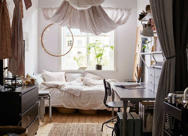 Comfortable and practical bedroom design