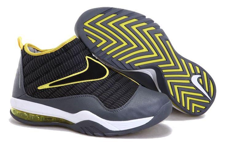 "Dennis Rodman Nike Shoes | Home / Nike Air Max Shake Evolve Dennis Rodman Shoes ""Anthracite"""