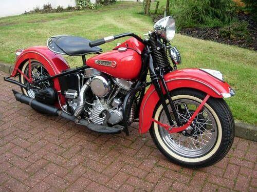 Harley Davidson 1948 Panhead Classic Bikes Pinterest