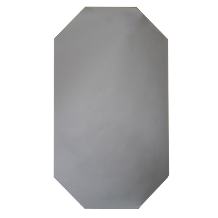 & Klevering Diamond Grey Wall Mirror: Mirror mirror on the wall... this chic diamond grey wall mirror with no frame just plain mirror this simple stylish look will look perfect on any wall.  The cool grey colouring adds instant opulence to any room, especially when displayed on a feature wall or above a fireplace.