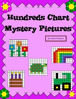 Best Number Puzzles Images On   Hundreds Chart Math