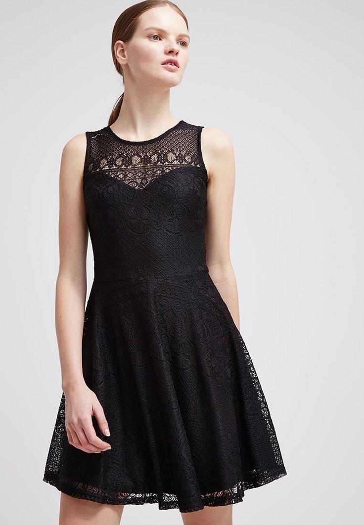 Even&Odd - Korte jurk - black