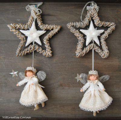 Viltcreaties Corina: Nieuwjaars wens en sterren feetjes!