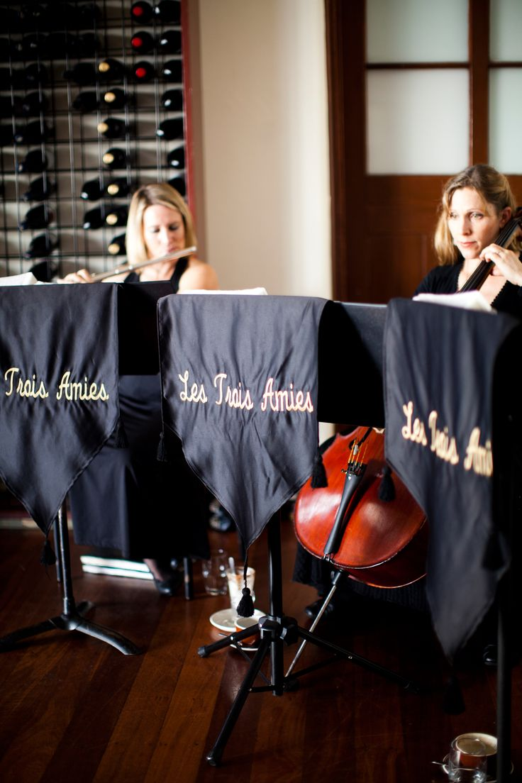 Classical music in the Wine Room