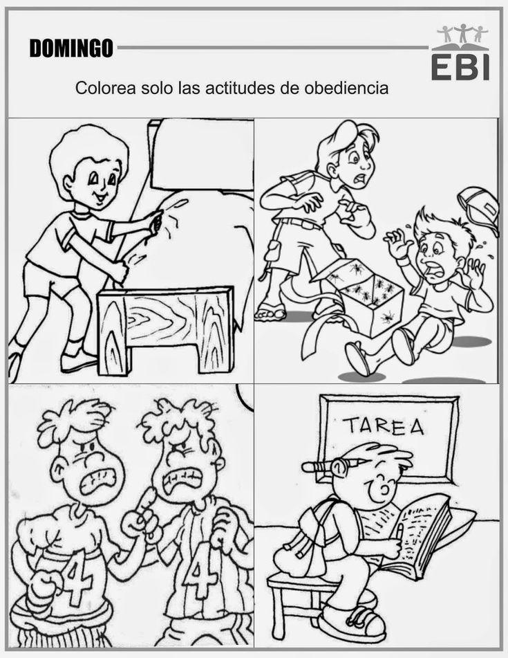 manualidades cristianas para niños sobre la obediencia a las ...