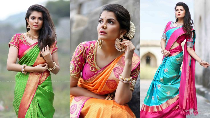A gorgeous saree losses its appeal without a beautifully styled blouse, a blouse has the ability to make or break the overall style quotient of the ensemble. At times, all you need to make your saree stand out is to pair it with a blouse that has some nice work at the back-neckline and sleeves. These beautifully crafted blouses by Paroksha with back neckline and sleeves designs can add a dash of elegance to any saree. This collection is ...