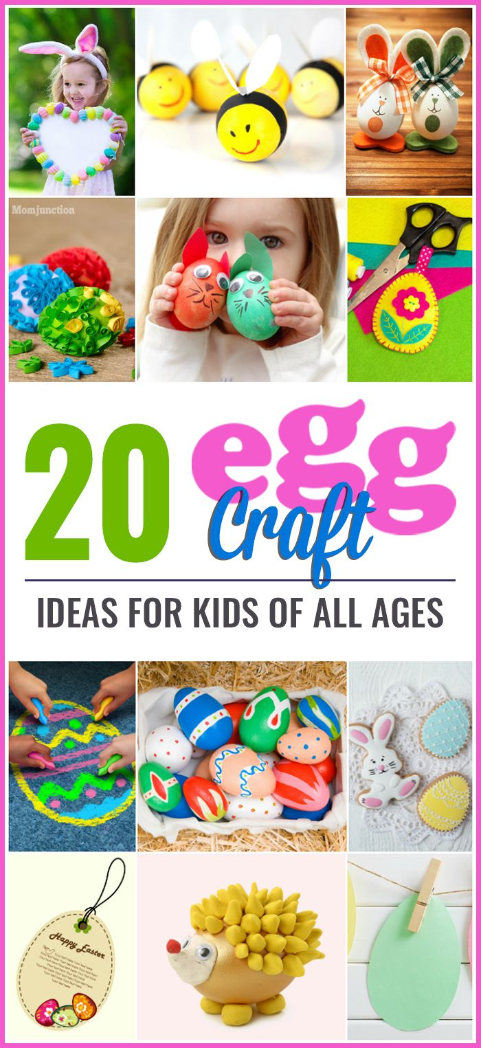 20 Amazing Egg Craft Ideas For Kids Of All Ages