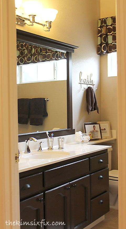 Bathroom Mirror Edge Repair bathroom mirror ideas. great elegant bathroom mirror with light