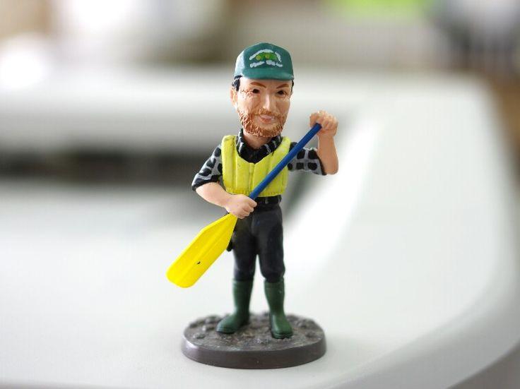 水曜どうでしょう ユーコン川現地ガイド ピートさん人形 Yukon River guide Pete figure