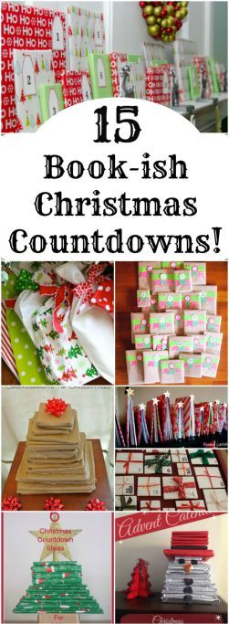This is a great time to pick up Christmas books at thrift stores for your DIY Advent Calendar!! 15 Book-ish Advent Calendar Ideas