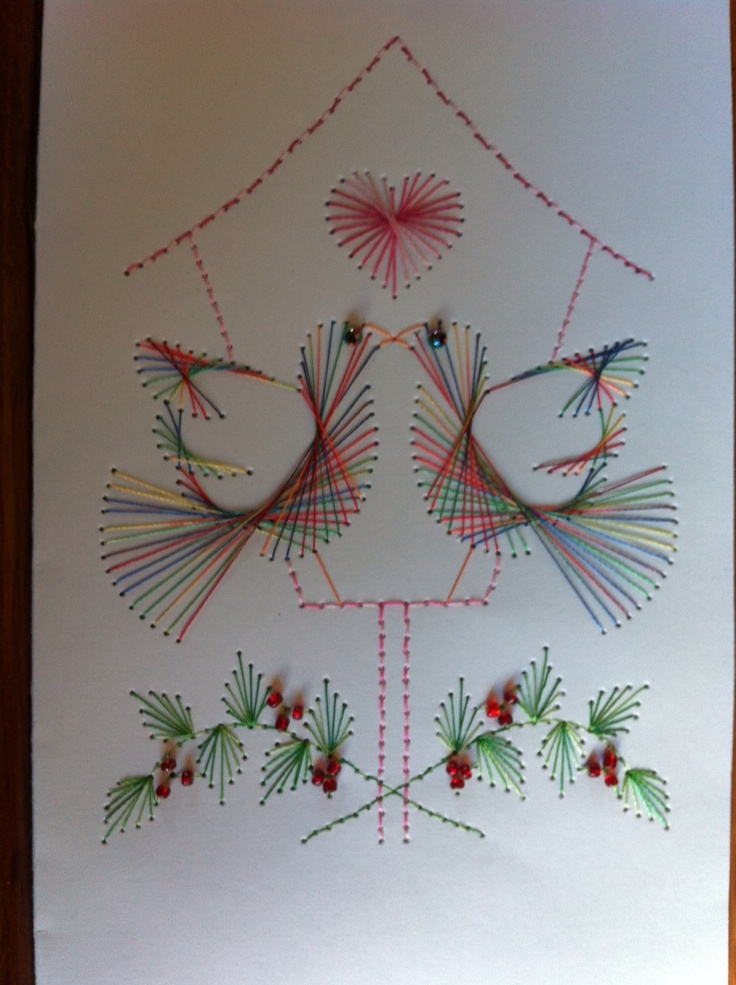 1079 Best Crafts Paper Embroidery Images On Pinterest Paper