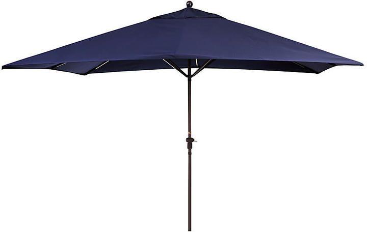 California Umbrella Rectangular Patio Umbrella - Navy