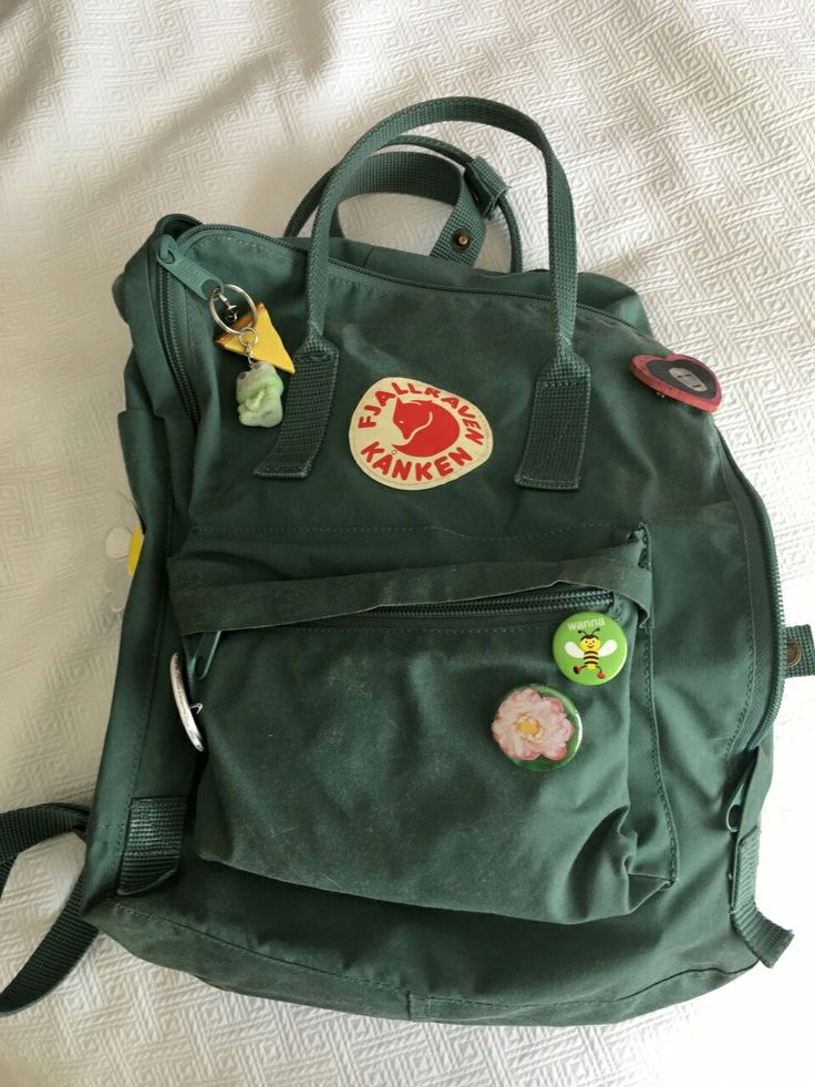 61 Best Fjallraven Kanken Green Images On Pinterest
