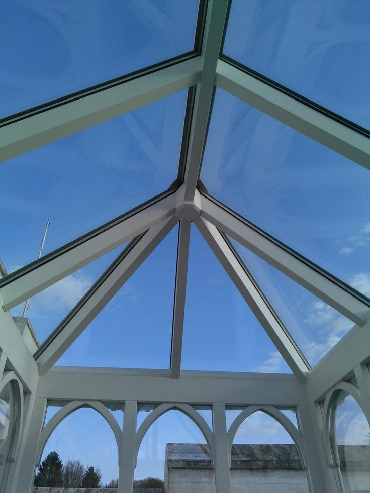 Roof lantern manufactured in #Accoya #Joinery #Bespoke