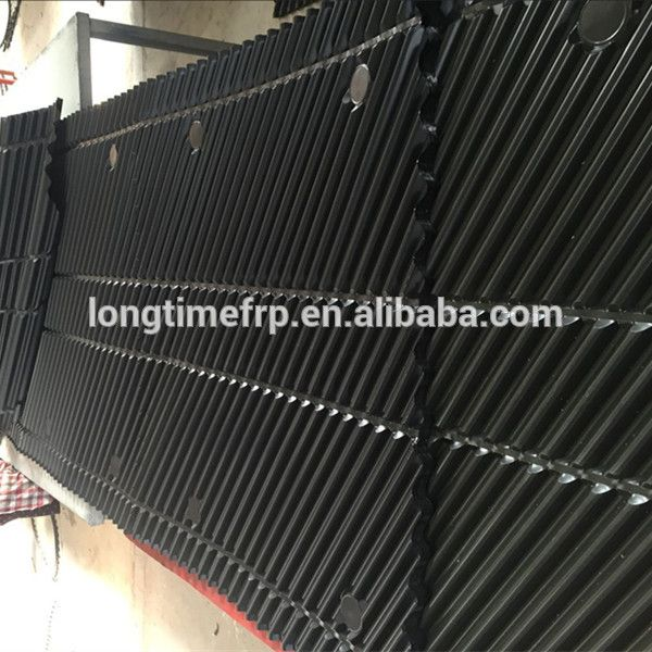 Hanging Counter Flow Pvc Filler For Cooling Towers Pvc Cooling
