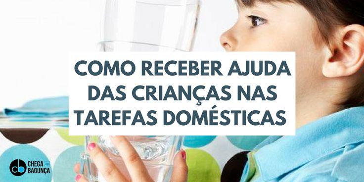 A lista de tarefas apropriadas para a idade da criança  :http://blogchegadebagunca.com.br/como-receber-ajuda-das-criancas-nas-tarefas-domesticas/?utm_source=feedburner