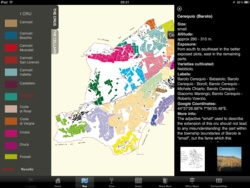 Digital maps for Barolo wine region, published by Enogea (Italy). Here I review this app for iPad.