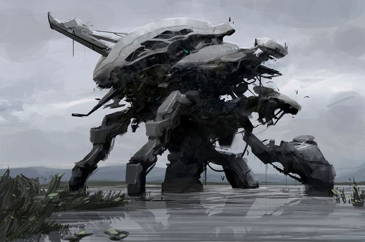 Inspiration for robot characters I'm creating.
