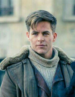 Image result for google image of Chris Pine as Steve Foster in Wonderwoman