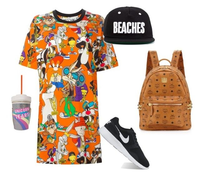 """what's up Doc?"" by cata-caicedo on Polyvore featuring Moschino, NIKE and MCM"
