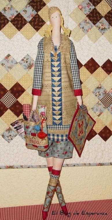 LA PEPA Que Tilda tan bonita del blog: http://elblogdeesperanzalopez.blogspot.com.es/ Me encanta!