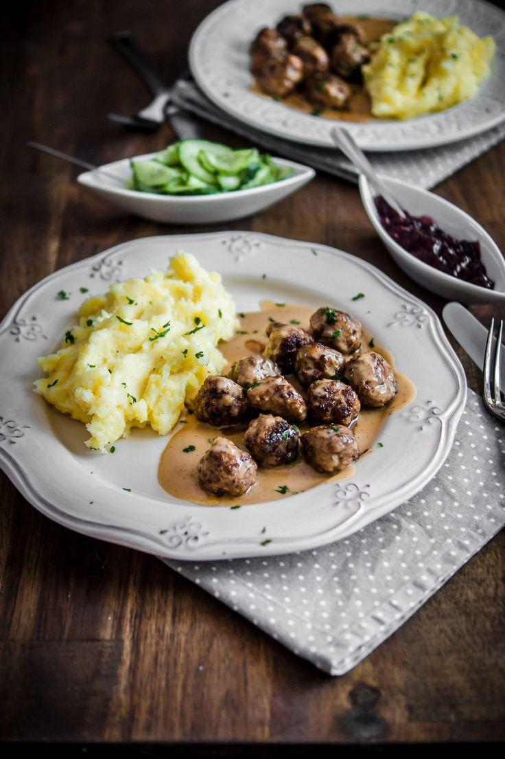 Original schwedische Köttbullar