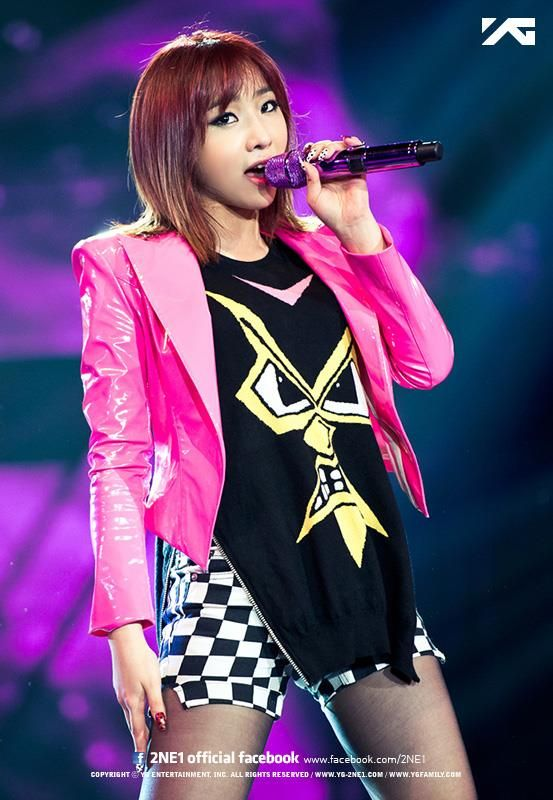 MINZY | 2NE1 ALL OR NOTHING 2014 WORLD TOUR IN CHINA x SHANGHAI GRAND STAGE