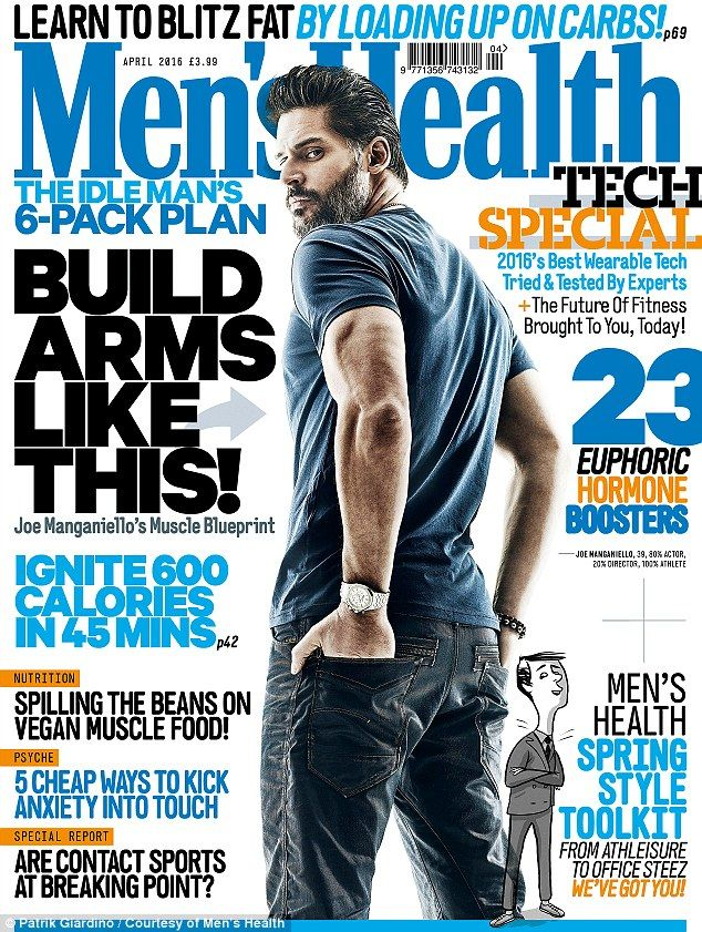Cover star: The full interview appears in the March 2016 issue of Men¿s Health, on sale fr...