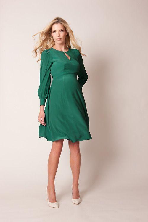 Jewel Tones #FallMaternityFashion · Fall Maternity FashionMaternity  Cocktail DressesMaternity ...