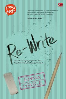 Kubikel Romance: Re-Write by Emma Grace | Book Review