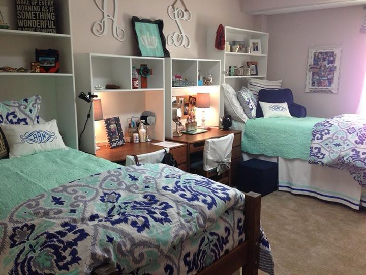 Auburn University dorm room