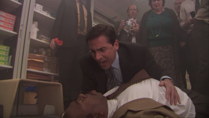 """The Office. Season 5: Episode 14 """"Stress Relief: Part 1"""""""