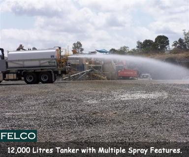 12000 litre #Tanker, direct Chassis mounted #Road #Watering application with multiple Spray features Manufacturing by #Felco. http://goo.gl/15Pbn1