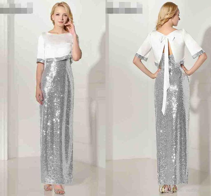 I found some amazing stuff, open it to learn more! Don't wait:http://m.dhgate.com/product/sexy-two-pieces-silver-sequined-evening-dresses/394149757.html