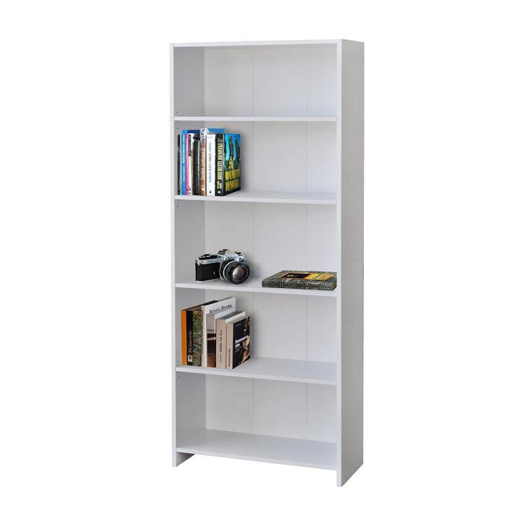 Knihovna 1613 bílá - Knihovny / regály - IDEA nábytek