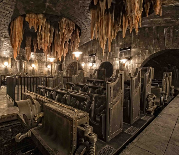 5 things you need to know before you ride Harry Potter and the escape from Gringotts  © 2014 Universal Orlando Resort. All rights reserved.